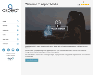 aspect-media.co.uk screenshot