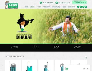 aspee.com screenshot