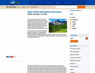 aspen.world-guides.com screenshot