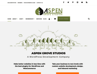 aspengrovestudios.com screenshot