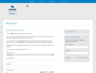 aspenheightsauburn.prospectportal.com screenshot