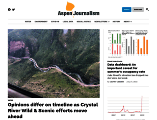 aspenjournalism.org screenshot