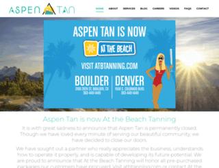 aspentan.com screenshot