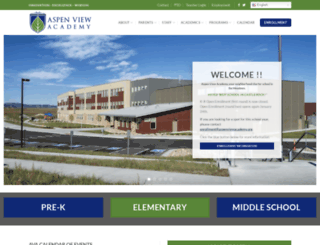 aspenviewacademy.org screenshot