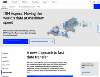 asperasoft.com screenshot