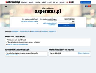 asperatus.pl screenshot