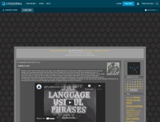 aspexplorer.livejournal.com screenshot
