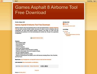 asphalt8airbornetoolfreedownload.blogspot.com screenshot