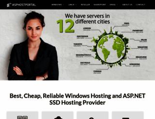 asphostportal.com screenshot