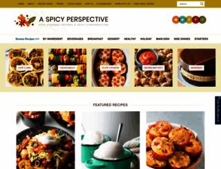 aspicyperspective.com screenshot