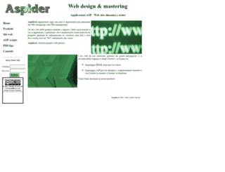 aspider.it screenshot