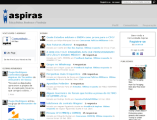 aspiras.ning.com screenshot