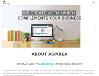 aspireatech.com screenshot