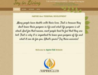 aspireclub.org screenshot