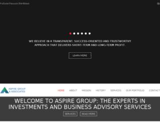 aspirega.com screenshot
