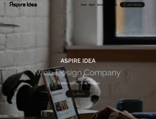 aspireidea.net screenshot