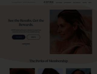 aspirerewards.com screenshot