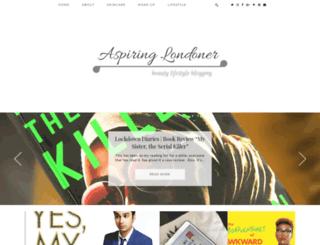 aspiring-londoner.blogspot.co.uk screenshot