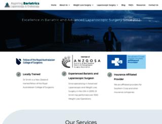 aspiringbariatrics.co.nz screenshot