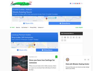 aspiringquotes.com screenshot