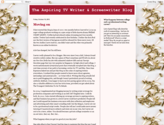 aspiringtvwriter.blogspot.com screenshot