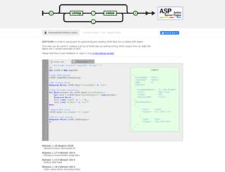 aspjson.com screenshot