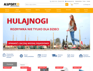 asport.com.pl screenshot