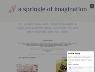 asprinkleofimagination.com screenshot