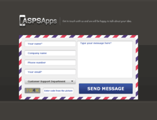 aspsapps.com screenshot