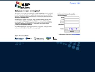 aspsolutions.com.br screenshot