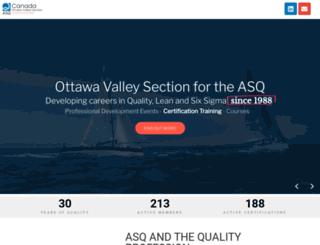 asqottawa.com screenshot
