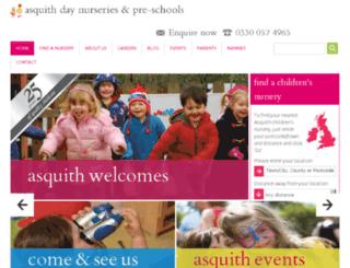 asquithnurseries.co.uk screenshot
