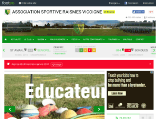 asraismes.footeo.com screenshot
