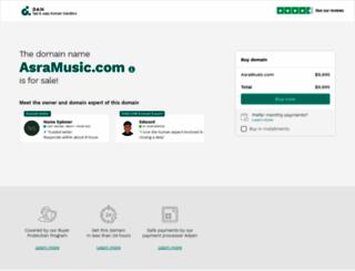 asramusic.com screenshot