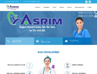 asrim.com.tr screenshot