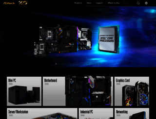 asrock.com screenshot
