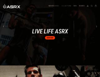 asrx.com screenshot