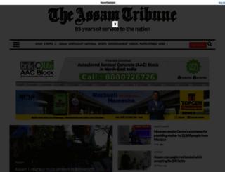 assamtribune.com screenshot