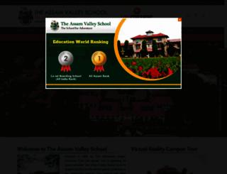 assamvalleyschool.com screenshot
