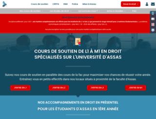 assas.centredeformationjuridique.com screenshot