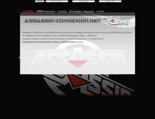 assassin-connexion.net screenshot