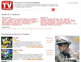 asseenontv.seenontv.com screenshot