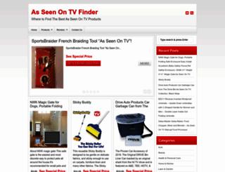 asseenontvfinder.com screenshot