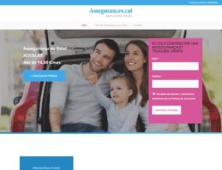assegurances.cat screenshot