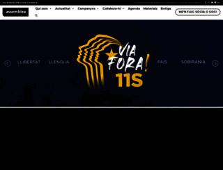 assemblea.cat screenshot