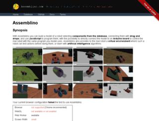 assemblino.com screenshot