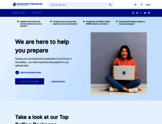 assessment-training.com screenshot