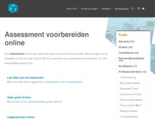 assessmenttest.nl screenshot