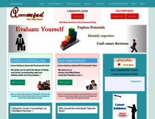 assessmind.com screenshot