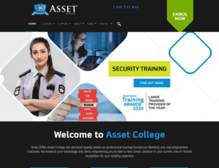 asset.edu.au screenshot